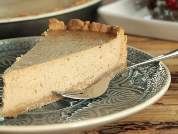 Datlov� cheesecake so �koricou